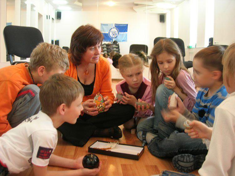 Работа детского психолога